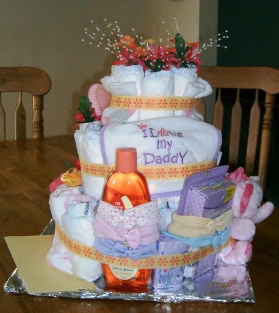 DIY Diaper Cakes