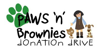 Paws 'n Brownies Donation Drive