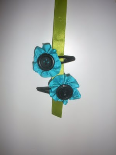 Flower Barrettes
