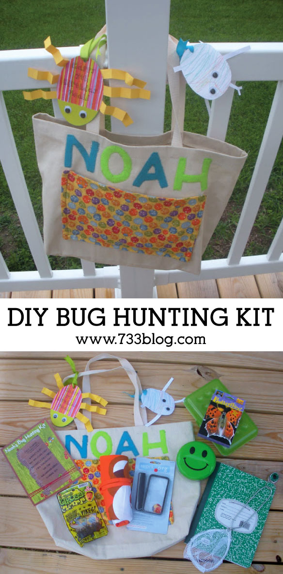 DIY Bung Hunting Kit - Gift Idea for Kids