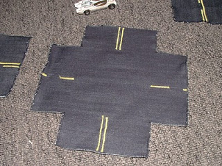 Fun Fabric Roads
