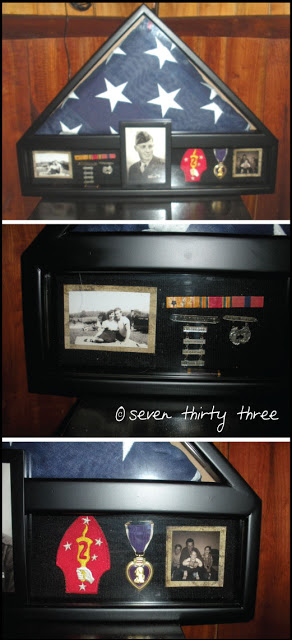 Family History… in a shadow box