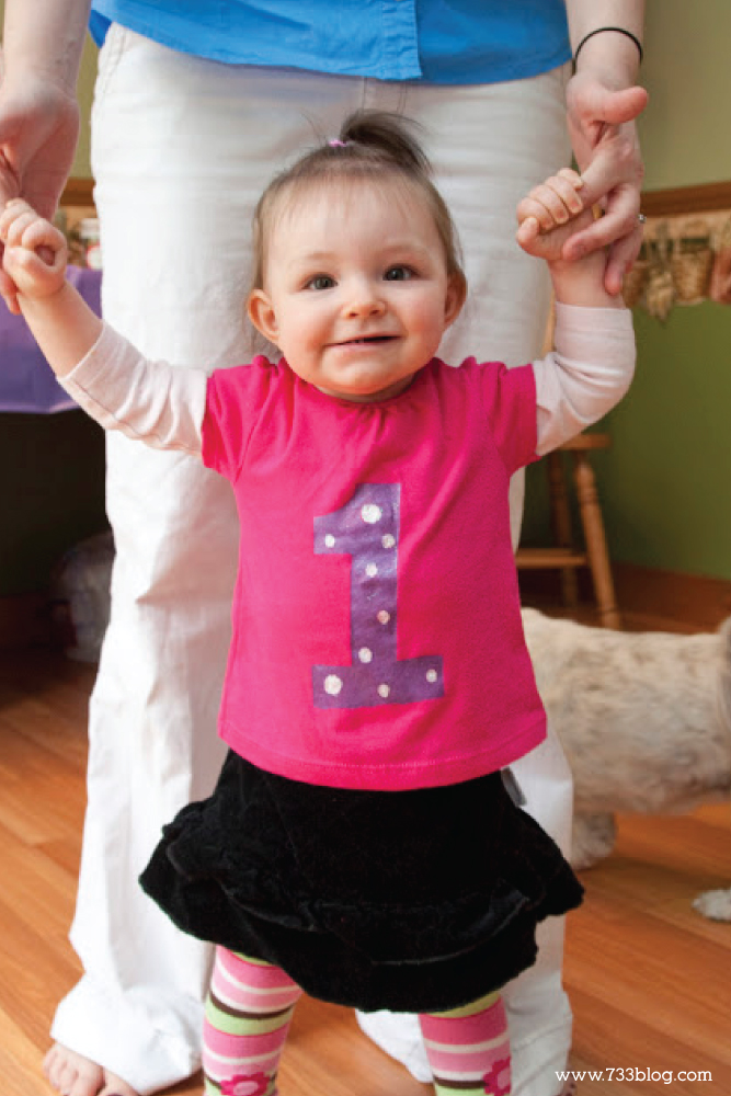 DIY First Birthday Shirt