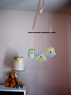 FFF: Adorable Paper Owl Mobile
