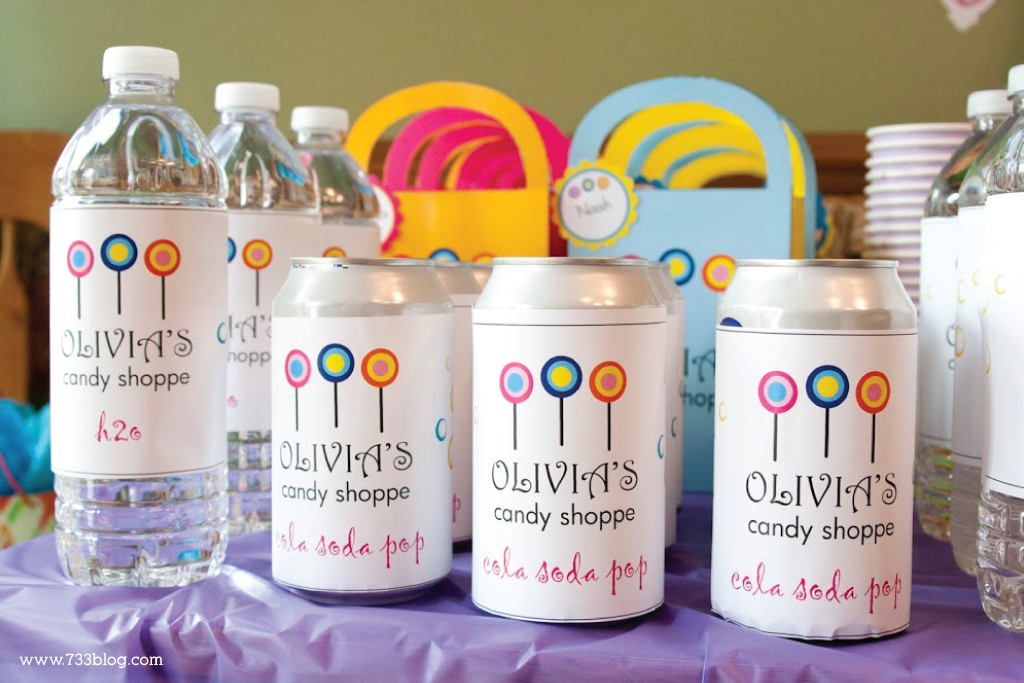 DIY Candy Shoppe Birthday Party