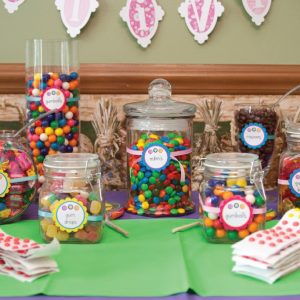 CANDY SHOPPE FIRST BIRTHDAY PARTY