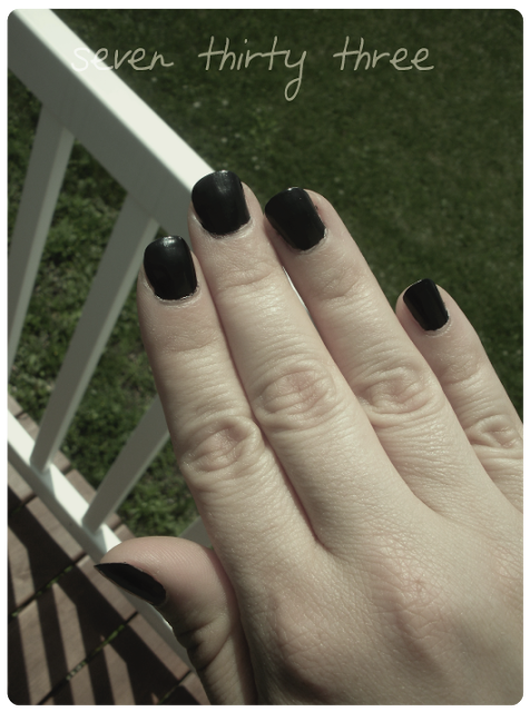 Black Nail Polish – Love it or Hate it?