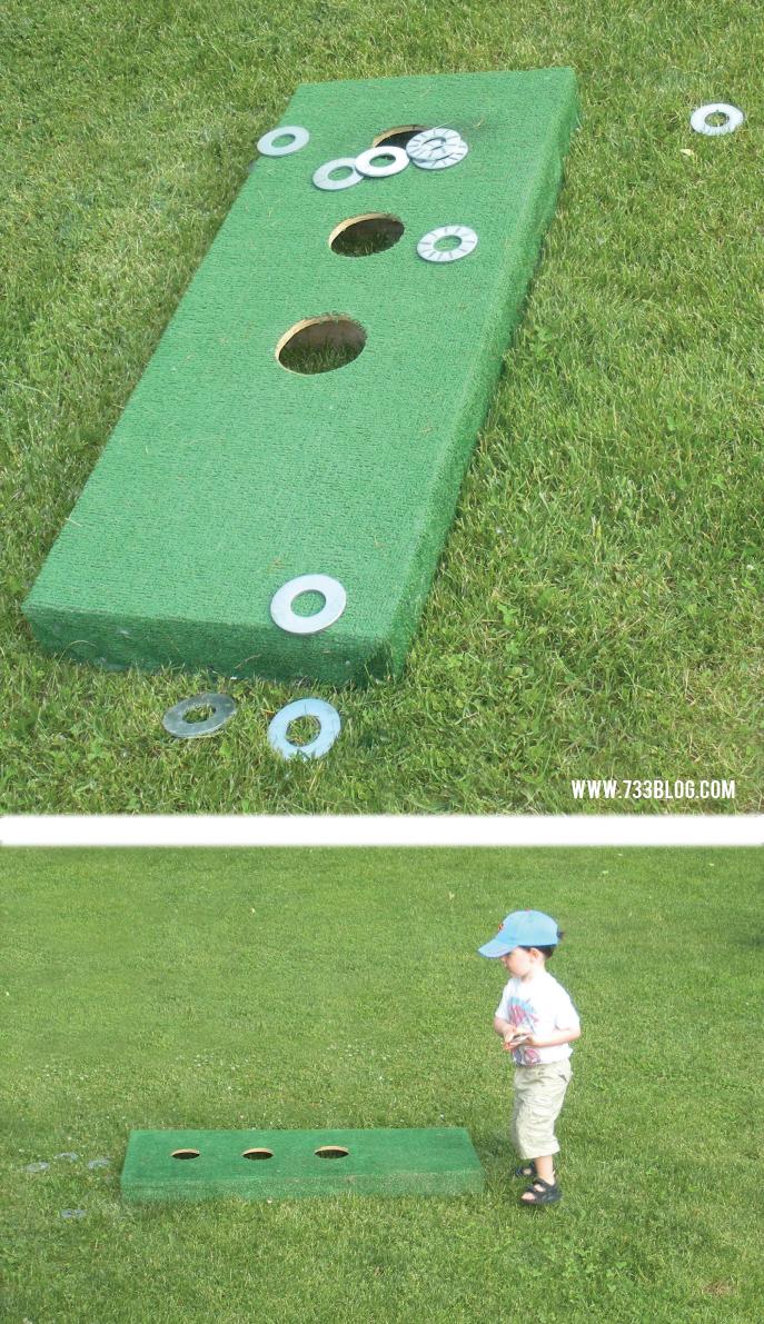 DIY Summer Lawn Game
