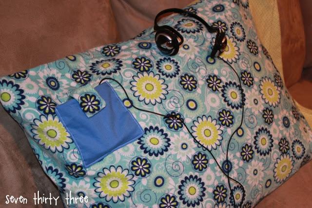 Pocket Pillowcase