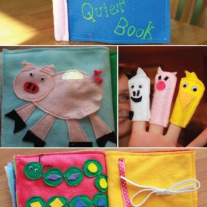 DIY Felt Quiet Book