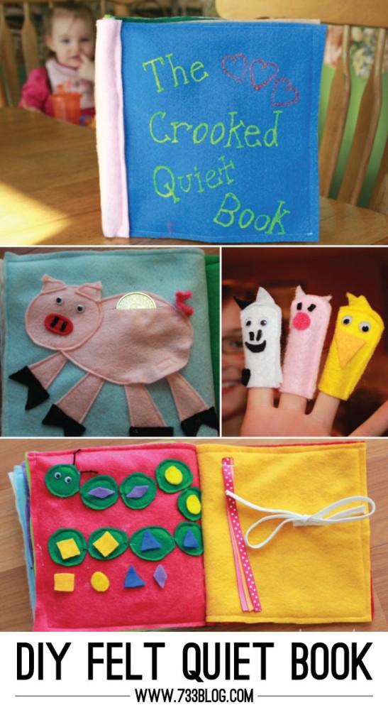 DIY Felt Quiet Book