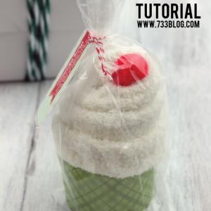 Sock Cupcake Gift Idea