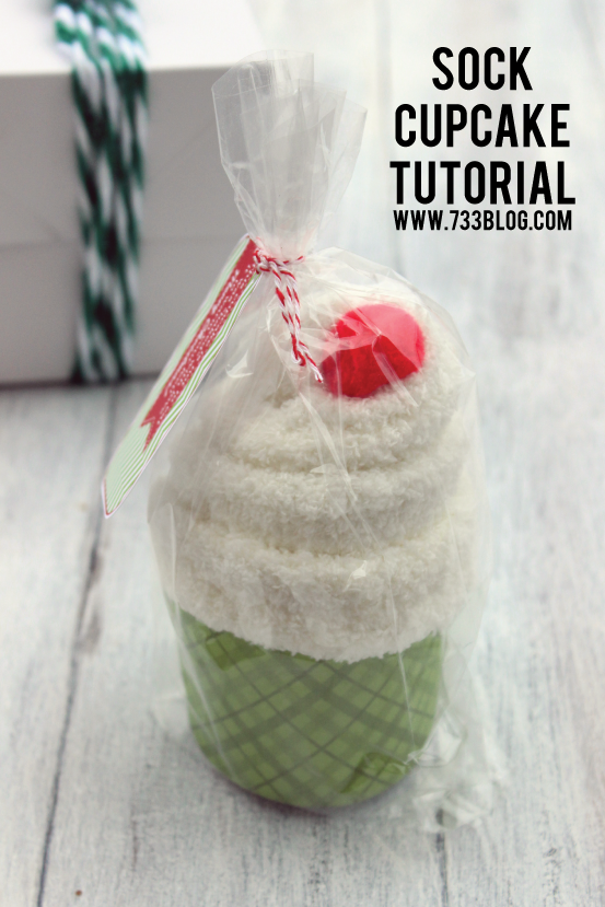 Sock Cupcake Tutorial