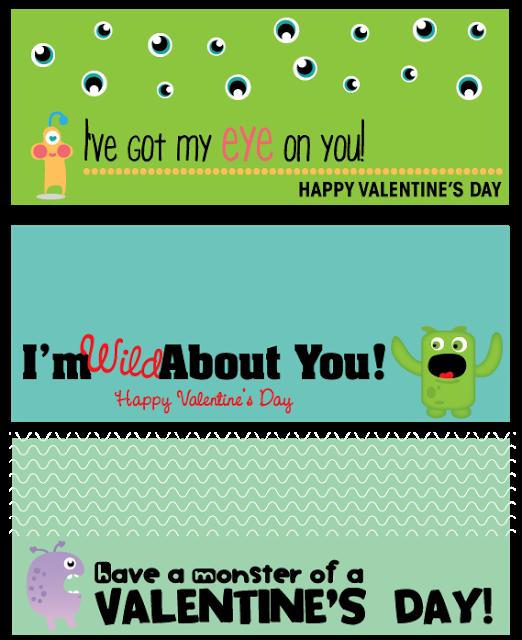I've Got My Eye on You! Valentine's Bag Toppers