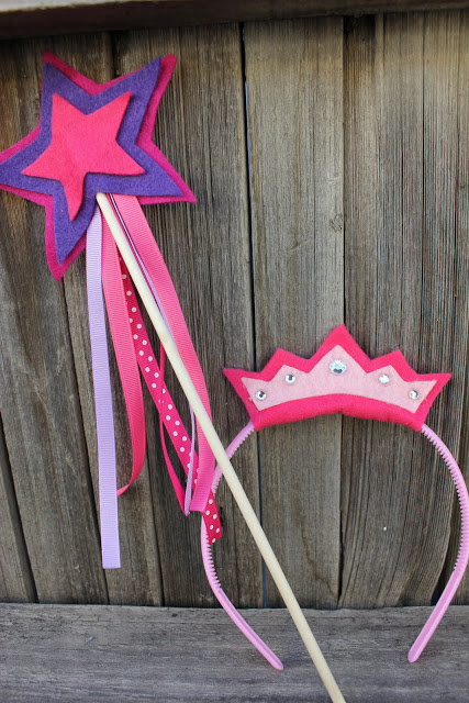 FFF: No Sew Princess Wand & Crown