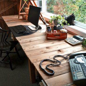 My {huge} Desk