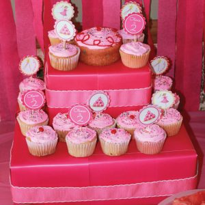 Free Printable Pinkalicious Themed Cupcake Toppers