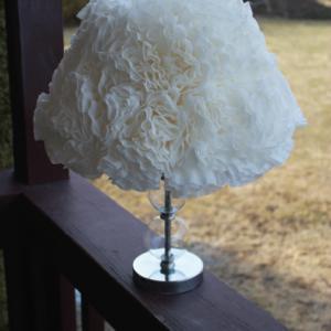 Coffee Filter Lamp Shade