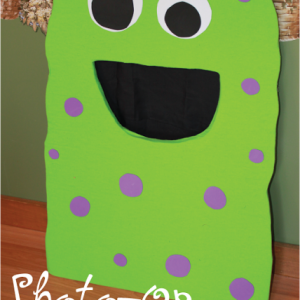Monster Party Photo Booth Prop