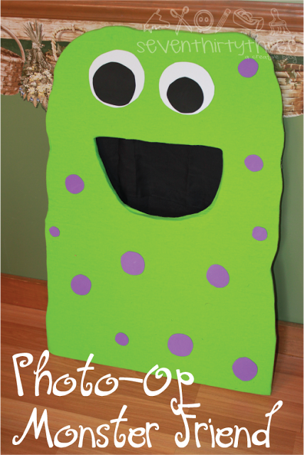 Monster Party Photo Prop