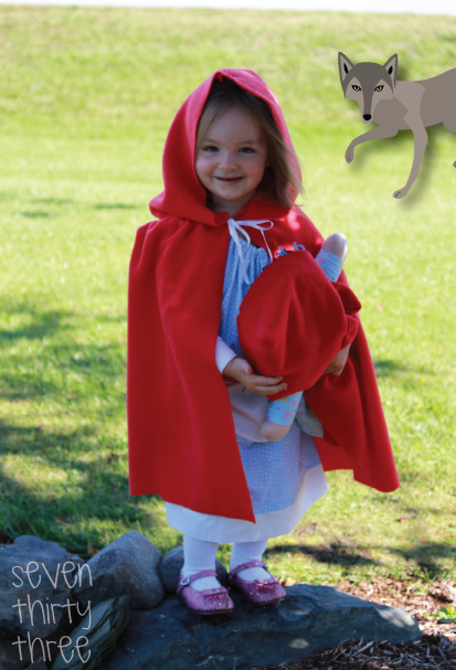 Diy Little Red Riding Hood Costume Inspiration Made Simple