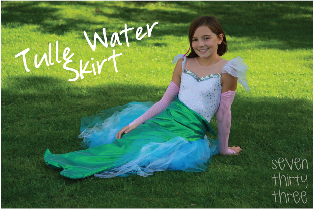 Mermaid Costume: Water Skirt Tutorial