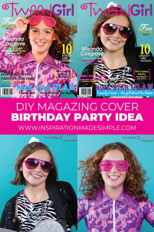 Fun birthday party idea for tweens