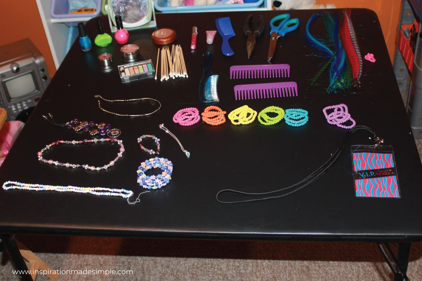Rock Star Make Up Table