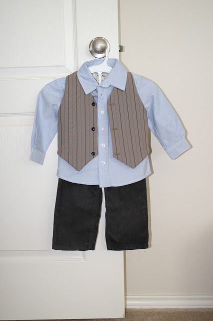 FFF: Boys Best Vest Tutorial (with Pattern)