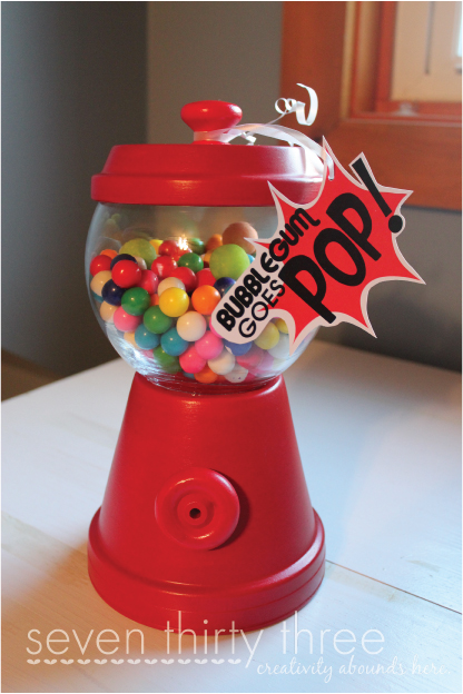 """POP!"" Themed Gift Basket"