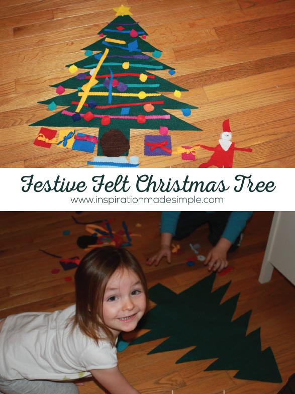 Fun Felt Christmas Tree Craft for Kids
