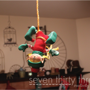Poor Elf Got Stuck!