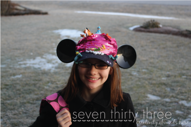 Disney Themed Crazy Hat