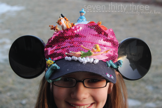 Disney Themed Crazy Hat Day Idea