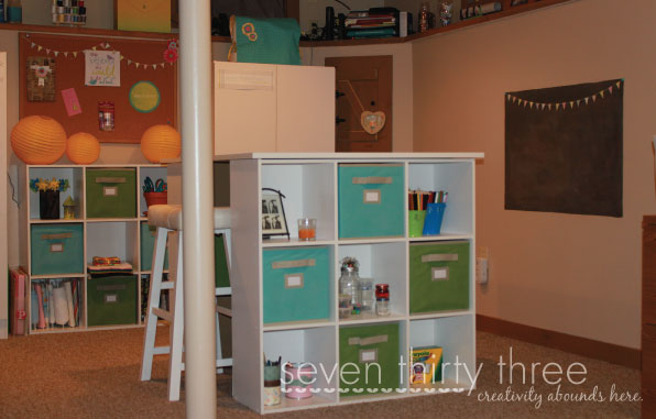 DIY Craft Room Transformation