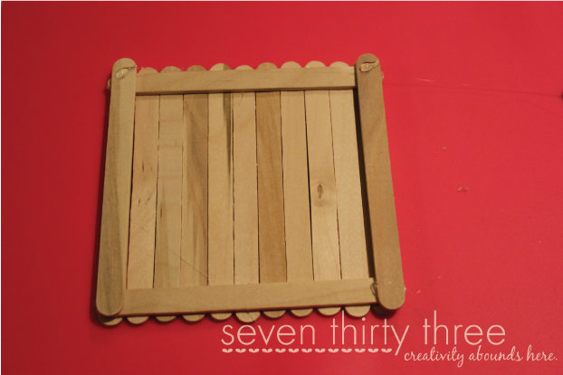 DIY Popsicle Stick Box Tutorial