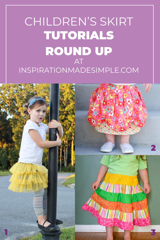 DIY Children's Skirts