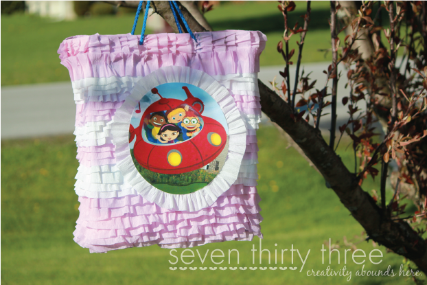 DIY Gift Bag Pinata