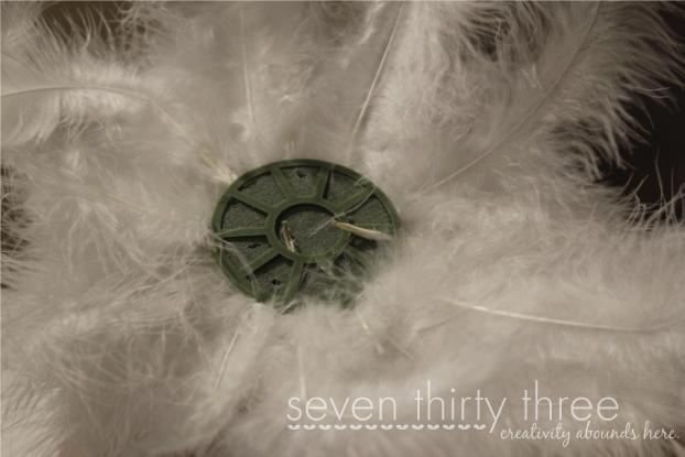 DIY Feather Bouquet