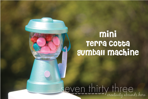 Mini DIY Gum Ball Machine