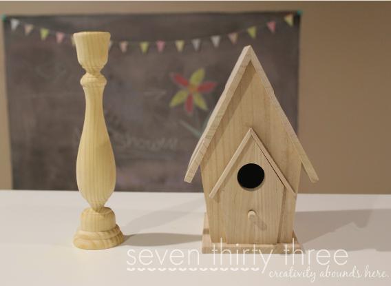 Pedestal Birdhouse – DIY
