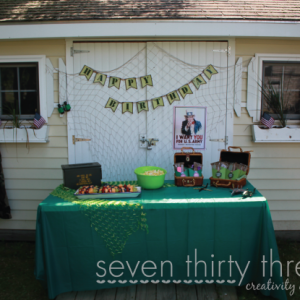 Army Themed Birthday Party