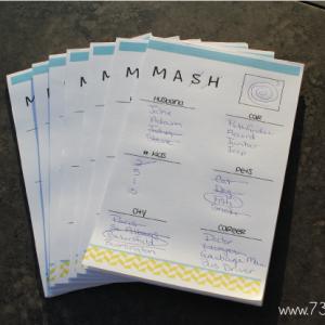 MASH-game