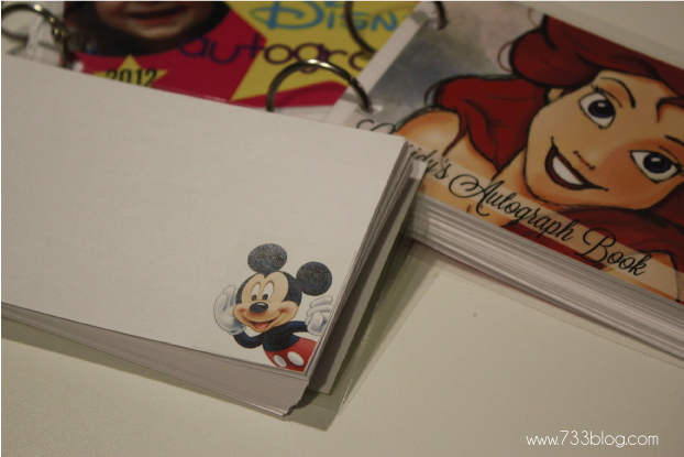 DIY Autograph Books!