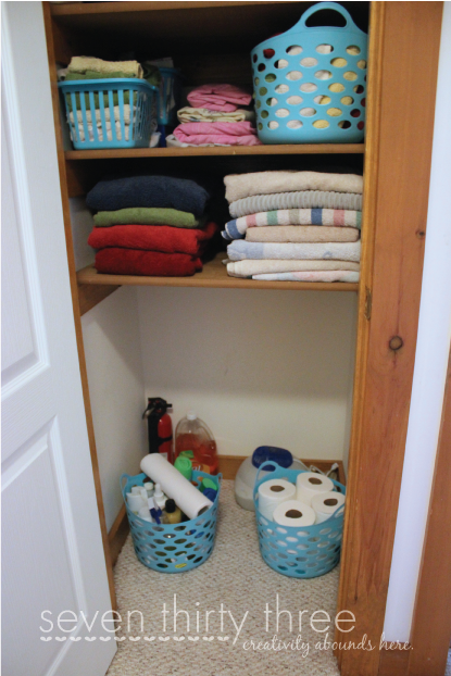Clean Linen Closet Tips