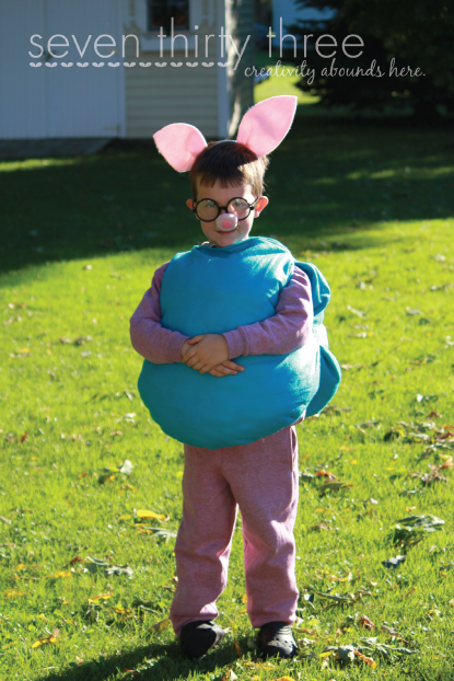 Peppa and Daddy Pig – A Halloween Costume Tutorial