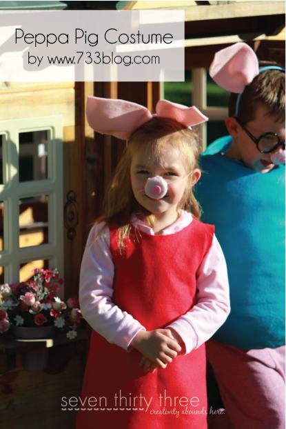 Карнавальный костюм свинка пеппа своими руками 49