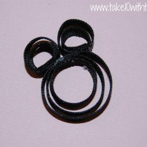 DISNEY LOVE: Minnie Mouse Clippie & Headband