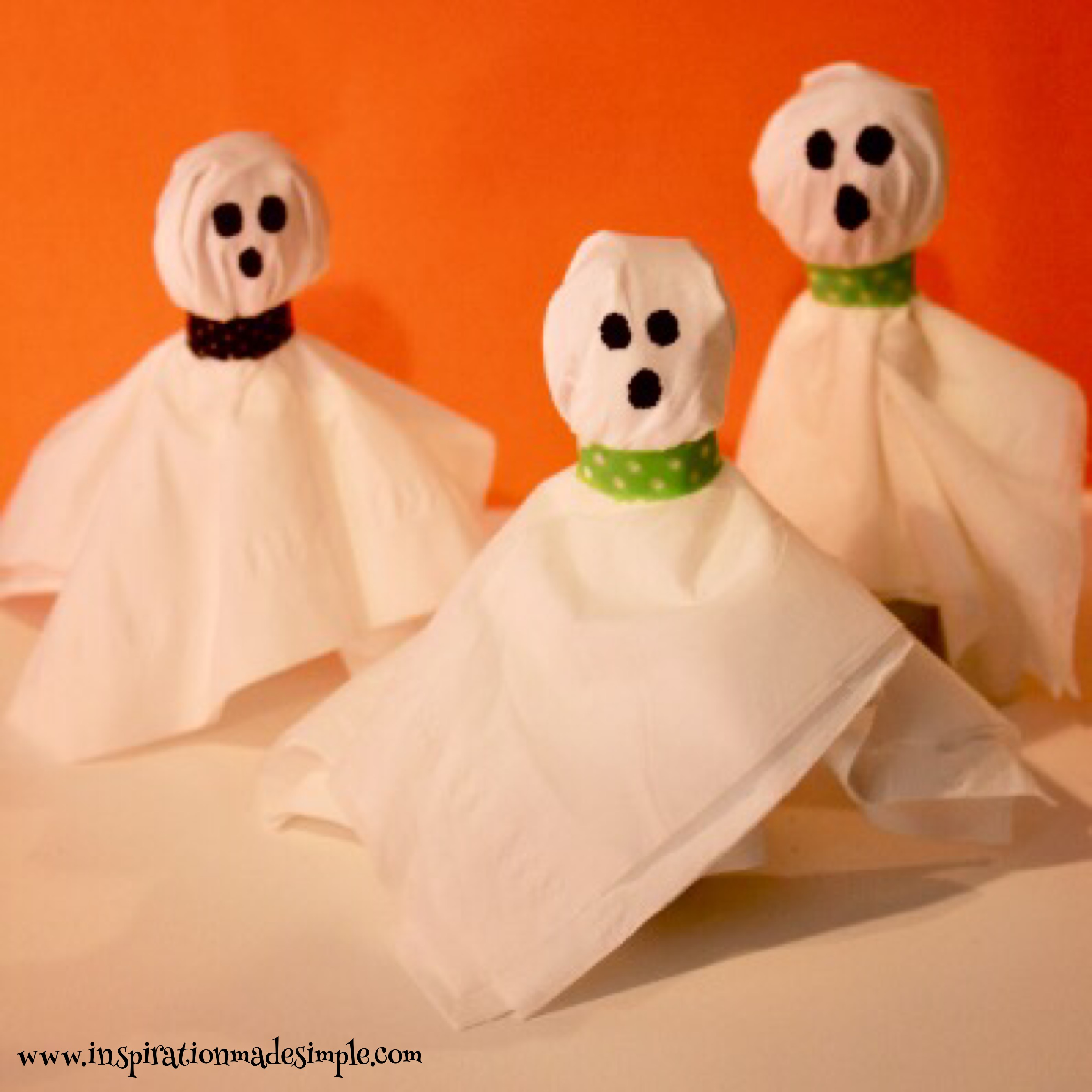 DIY Ghost Lollipops