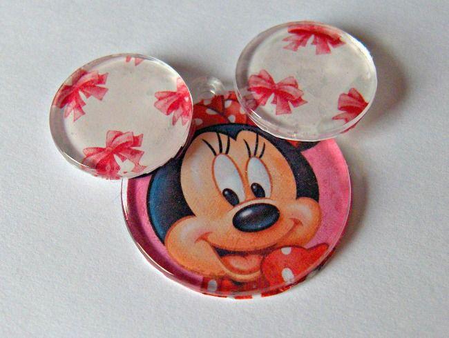 Minnie Mouse Pendant Tutorial